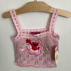 Sesame Street by Nanette crochet girls top
